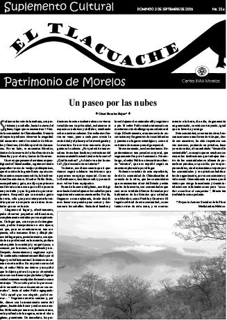 Ver Núm. 224 (2006): El Tlacuache