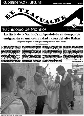Ver Núm. 173 (2005): El Tlacuache