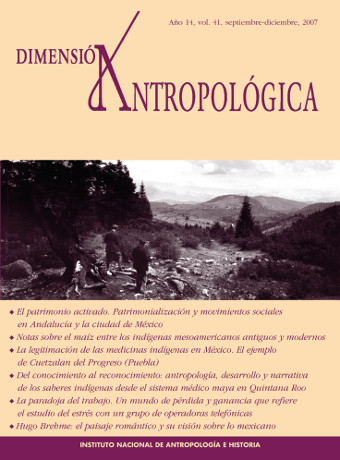 Ver Vol. 41 (2007): Dimensión Antropológica