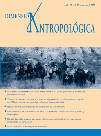 Ver Vol. 78 (2020): Dimensión Antropológica