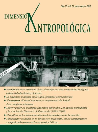 Ver Vol. 73 (2018): Dimensión Antropológica